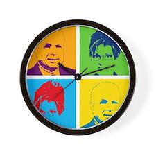 Mac & Sarah Wall Clock