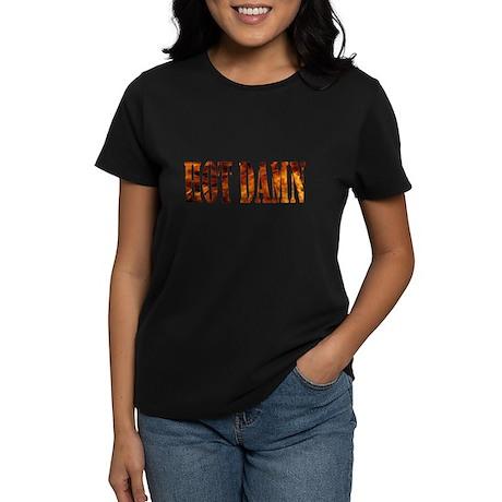 Hot Damn Women's Dark T-Shirt