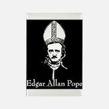 Edgar Allan Pope Rectangle Magnet