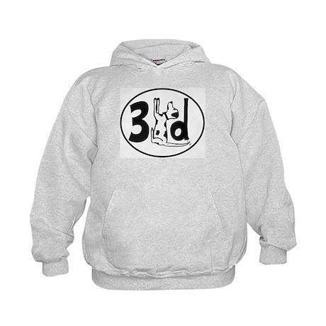 3LD Logo Kids Hoodie