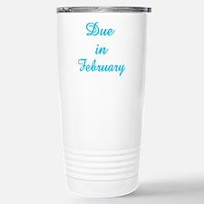Cute Due february Travel Mug