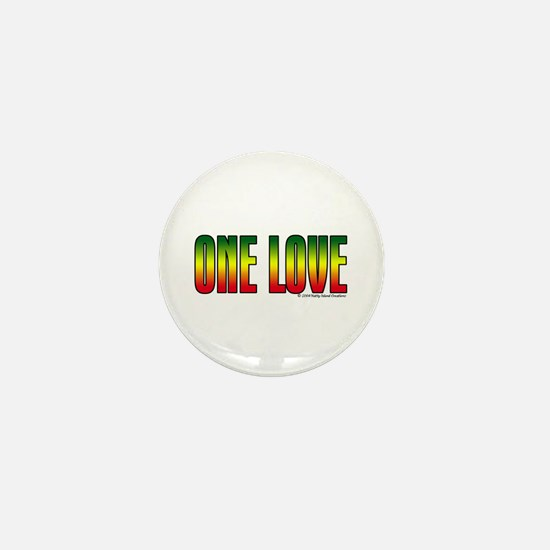 One Love Mini Button