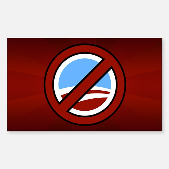 Anti Obama Rectangle Bumper Stickers