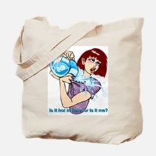 Midlife Mindy hot flash ice Tote Bag