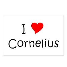Cornelius Postcards (Package of 8)