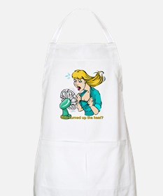 Hot flashes humor BBQ Apron