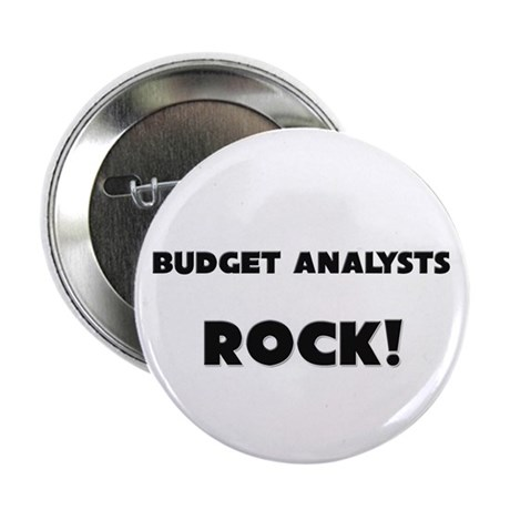 "Budget Analysts ROCK 2.25"" Button"