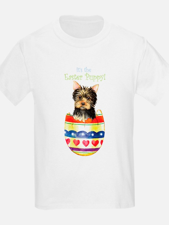 Easter Yorkie T-Shirt