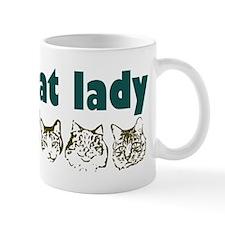 Crazy Cat Lady Small Mug