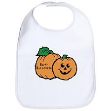 Halloween Pumpkins Bib