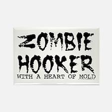 Zombie Hooker Rectangle Magnet
