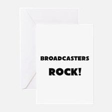 Broadcasters ROCK Greeting Cards (Pk of 10)