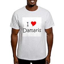 Unique I love damaris T-Shirt