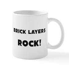 Brick Layers ROCK Small Mug