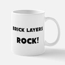 Brick Layers ROCK Small Small Mug