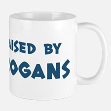Raised by Trogans Mug