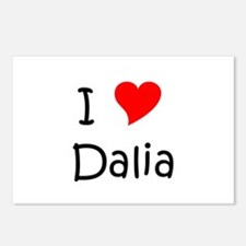 Funny Dalia Postcards (Package of 8)