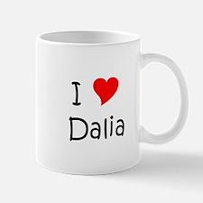 Unique I love dalia Mug