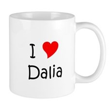 Unique I love dalia Mug