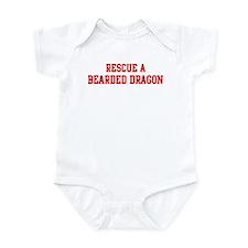 Rescue Bearded Dragon Infant Bodysuit
