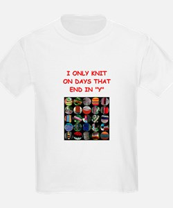 knitting T-Shirt