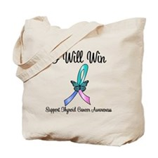 Thyroid Cancer Win Tote Bag
