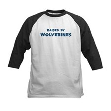 Raised by Wolverines Tee
