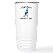 Thyroid Cancer Survive Travel Mug