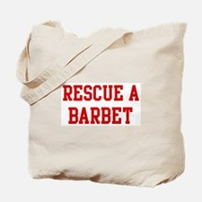 Rescue Barbet Tote Bag
