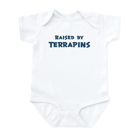 Raised by Terrapins Infant Bodysuit