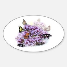 Tiger Swallowtail Butterfly & Lilacs Decal
