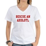 Axolotl Womens V-Neck T-shirts