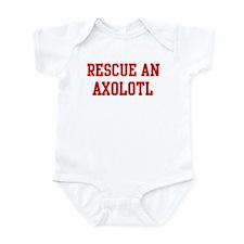 Rescue Axolotl Infant Bodysuit