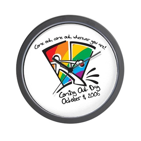 National Coming Out Day 2006 Wall Clock