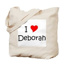 Unique I love deborah Tote Bag