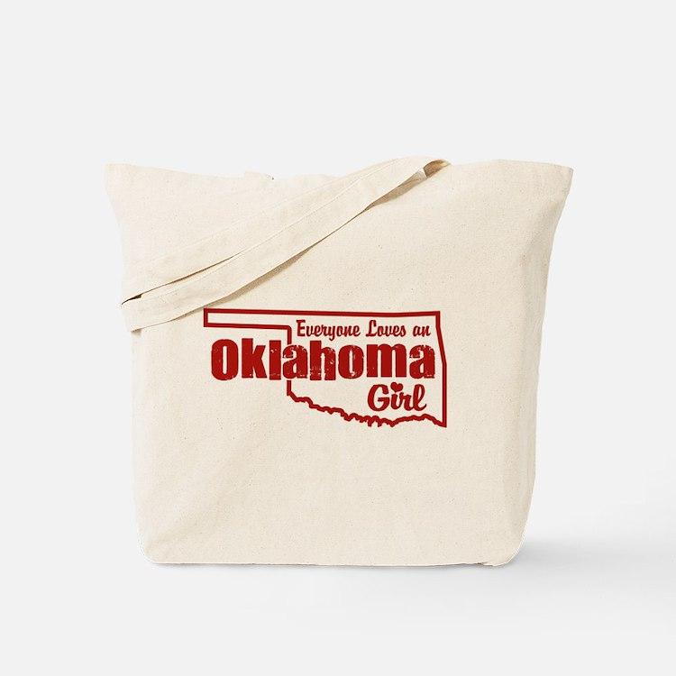 Oklahoma Girl Tote Bag