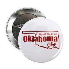 """Oklahoma Girl 2.25"""" Button"""
