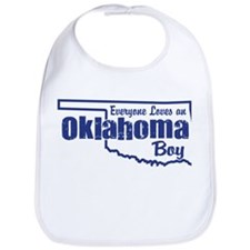 Oklahoma Boy Bib