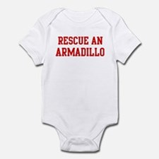 Rescue Armadillo Infant Bodysuit