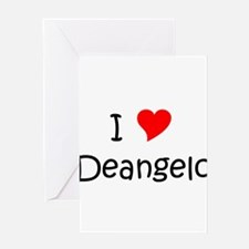Cool Deangelo Greeting Card