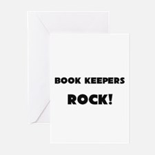 Book Keepers ROCK Greeting Cards (Pk of 10)