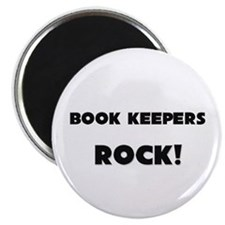 Book Keepers ROCK Magnet