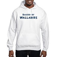 Raised by Wallabies Hoodie