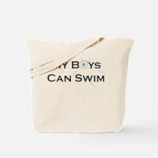 My Boys Can Swim Tote Bag