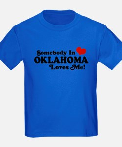 Somebody in Oklahoma Loves Me T