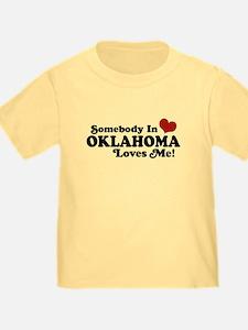 Somebody in Oklahoma Loves Me T