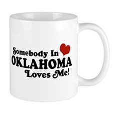 Somebody in Oklahoma Loves Me Mug