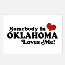 Somebody in Oklahoma Loves Me Postcards (Package o