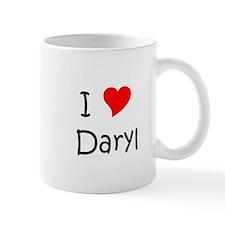 Cute I heart daryl Mug