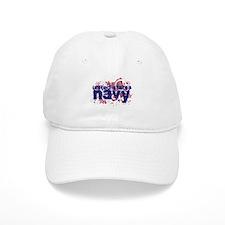 Navy Splat Baseball Cap